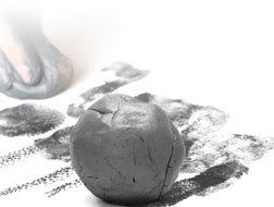 Graphite Putty ball